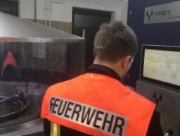 Neue Schlauchwaschanlage - Gerätehausumbau